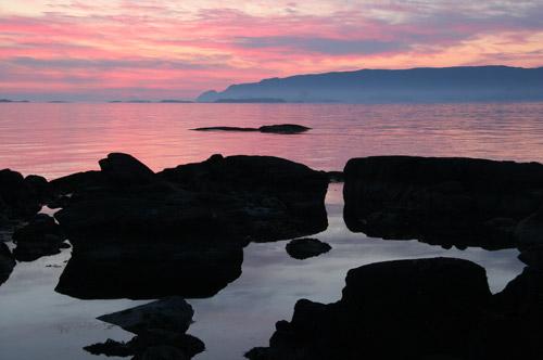kvanhovden-solnedgang