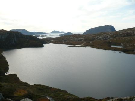 Gåsevatn med utsikt sørvestover